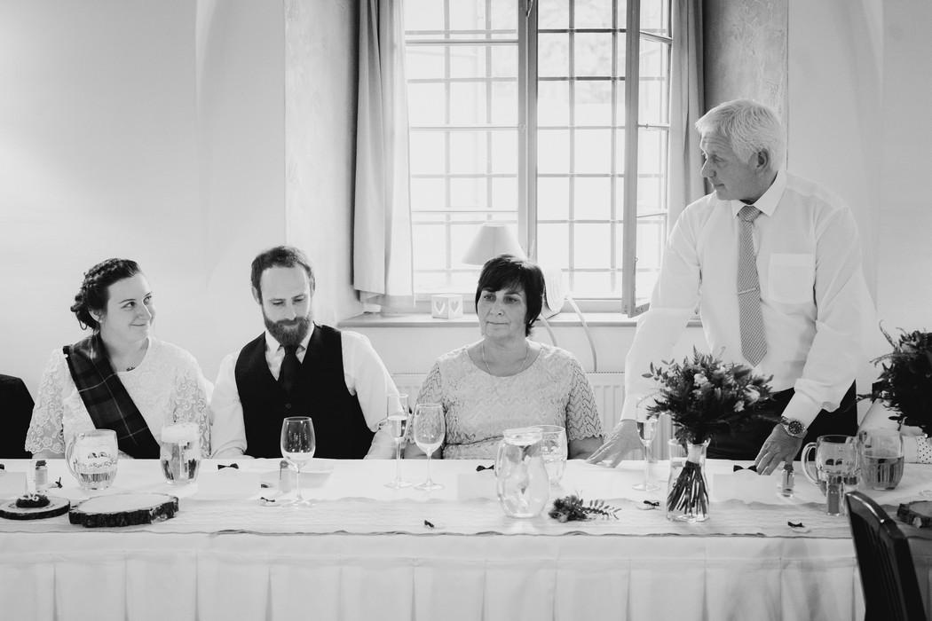 příhovor svatebního otce