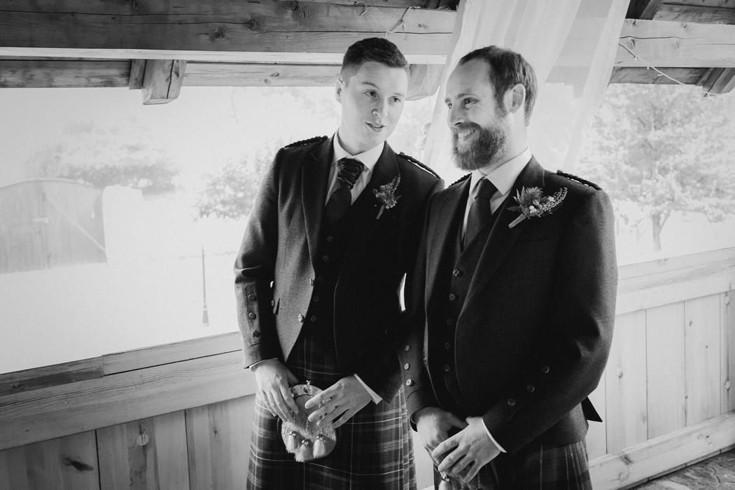 ženich čeká na nevěstu