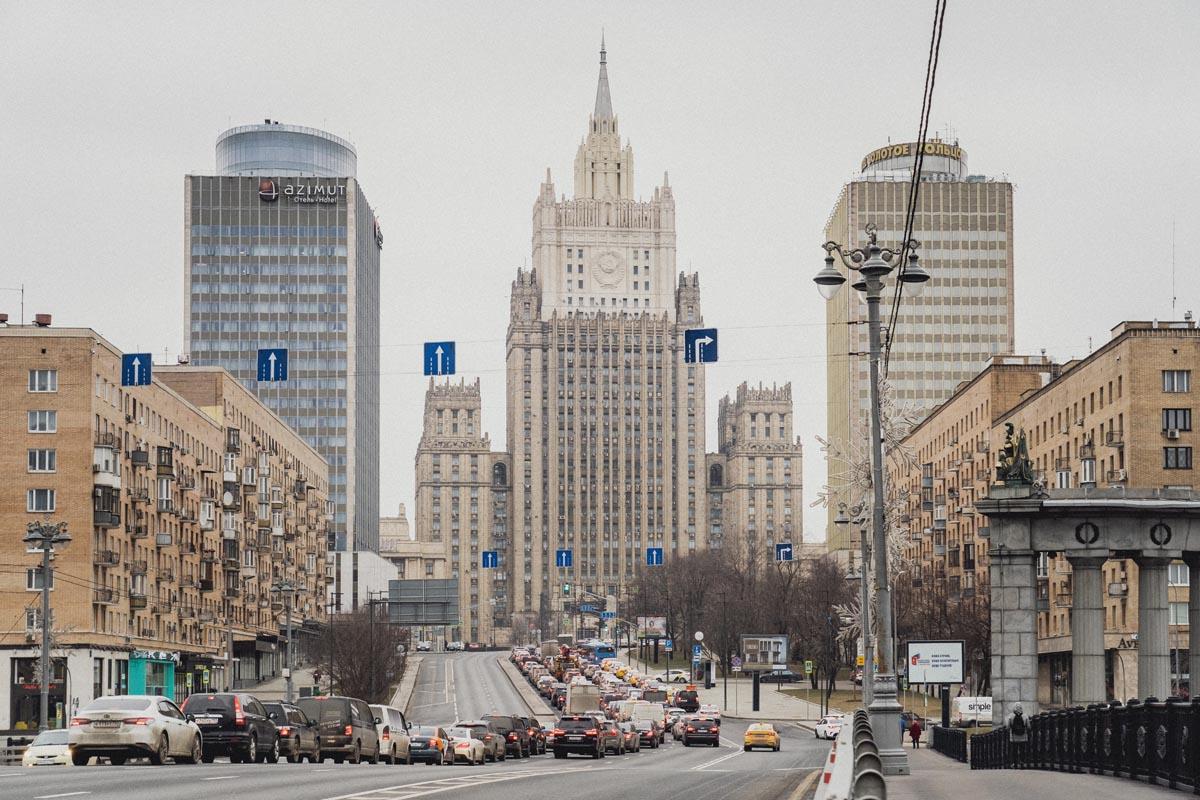moskevský mrakodrap