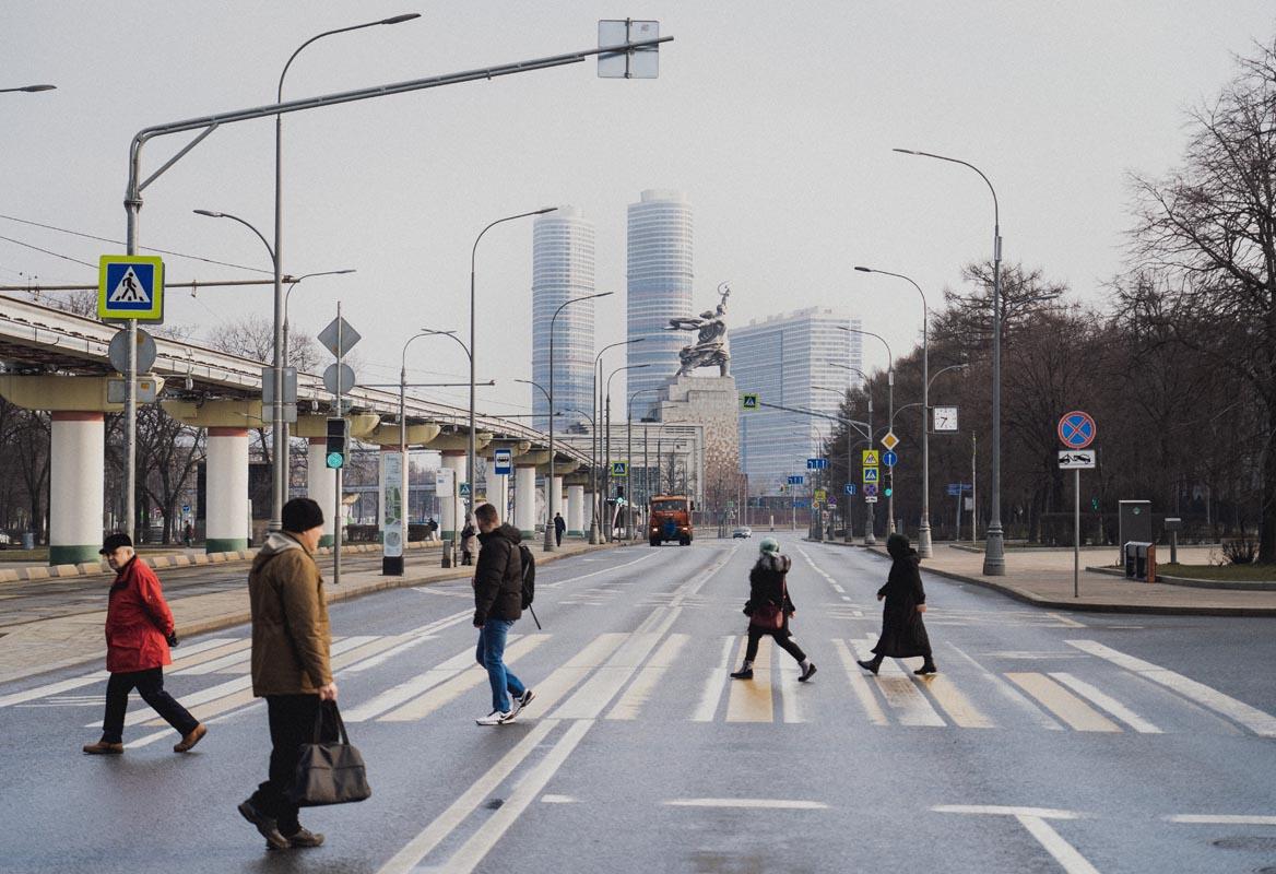 sovietská moskva
