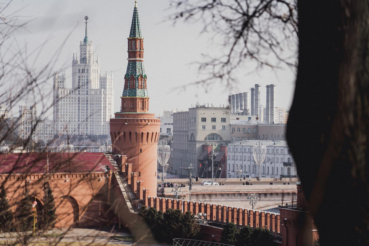 moskevský kremlin