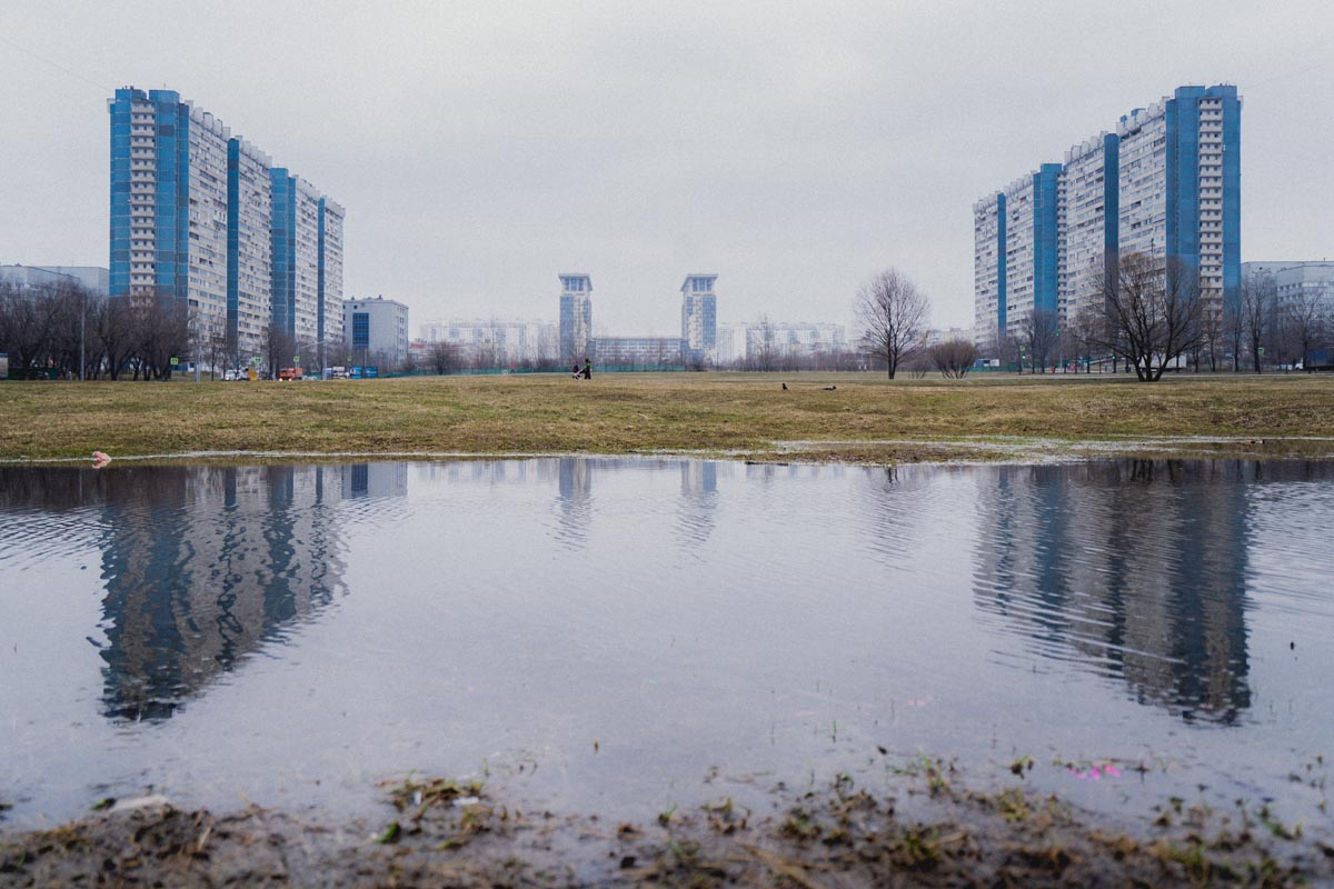 moskevské sídliště