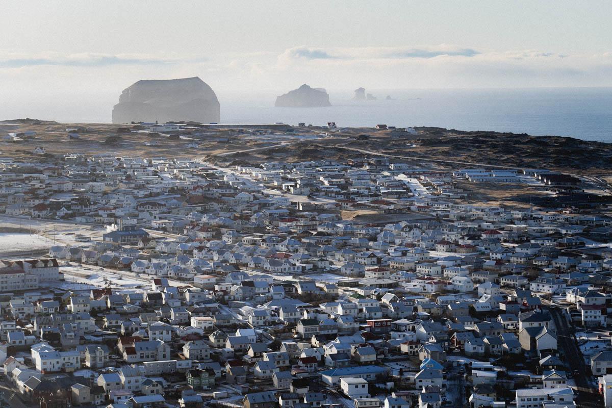 vestmannaeyjar village