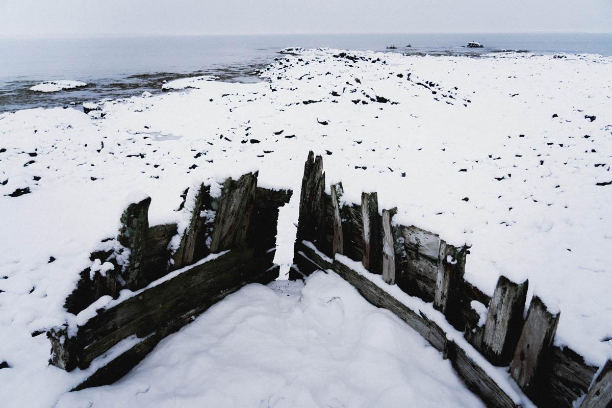 icelandic sea shore