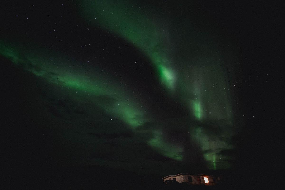 polar light iceland