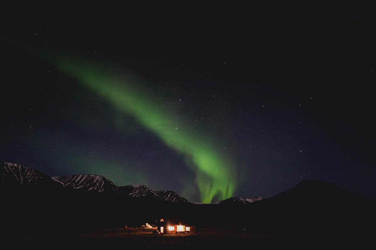 iceland polar light