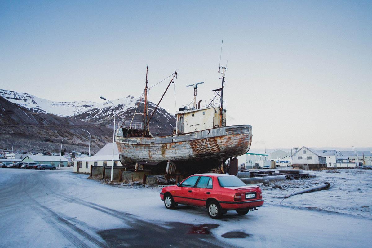 olafsfjordur village
