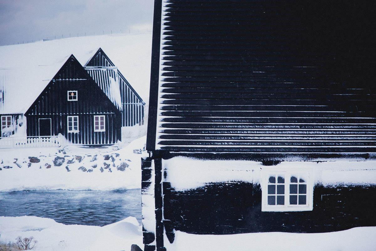 Hofsos houses