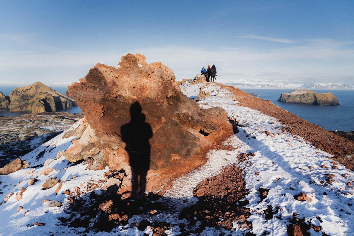 sopečný ostrov vestmannaeyjar